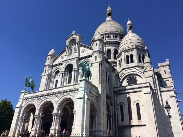 Learn French and Study French in France, Discover Paris, French History and Culture-Sacre Coeur